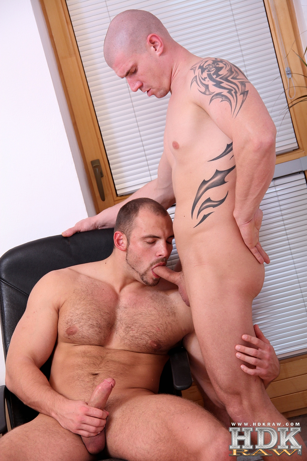 HDK-Raw-Creamin-Fit-Fuckers-Tomm-Max-Born-Muscle-Bareback-Amateur-Gay-Porn-04 Built Hairy Muscle Bear Fucks His Smooth Muscle Buddy Raw