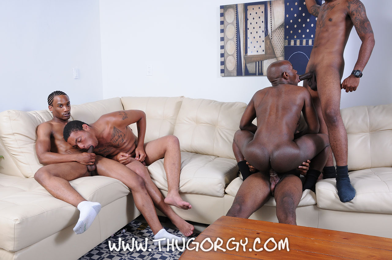 Thug-Orgy-Kash-Angel-Mr-Magic-Intrigue-Ramon-Steel-Gay-Black-Guys-Fucking-Amateur-Gay-Porn-07 Amateur Big Black Cock Orgy Ends With A Cum Facial
