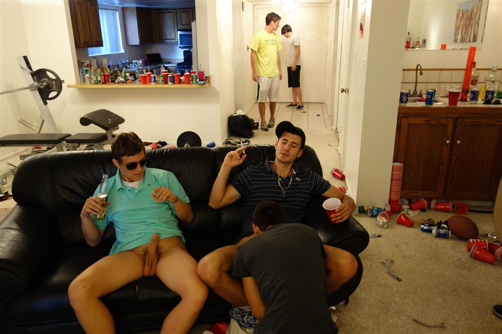 Fraternity-X-Drunk-Frat-Pledge-Gets-Barebacked-While-Passed-Out-Amateur-Gay-Porn-08 Drunk And Passed Out Frat Pledge Gets Fucked Bareback
