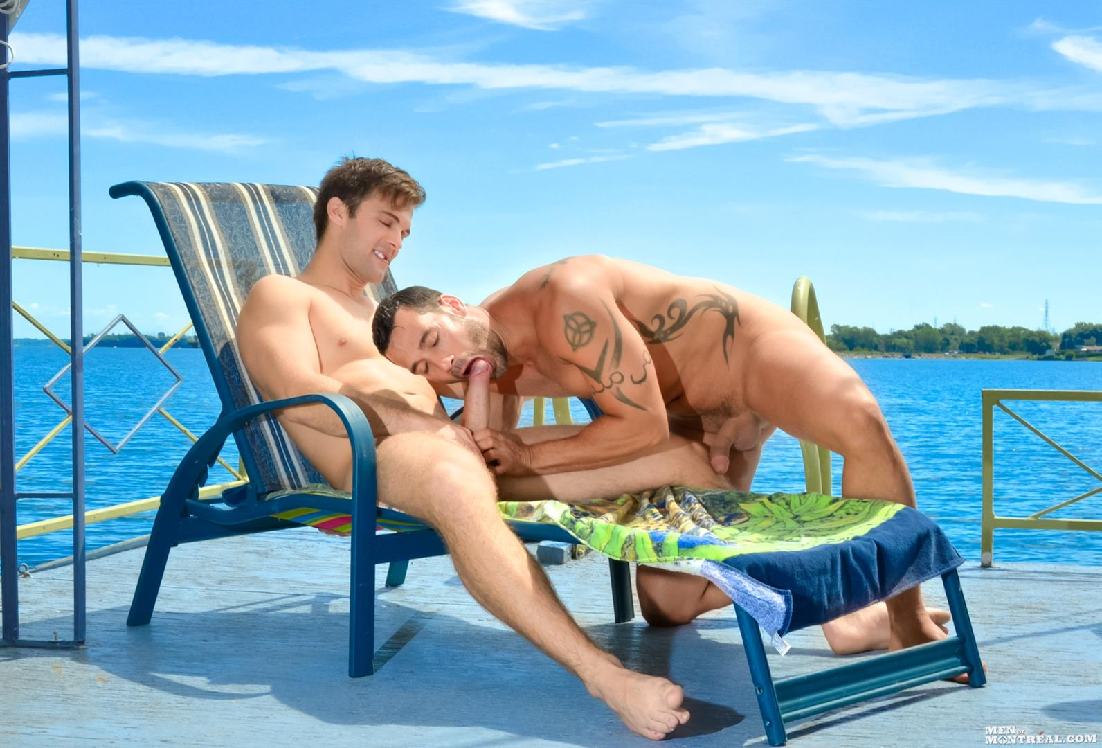 Men-of-Montreal-Gabriel-Clark-and-Alexy-Tyler-Muscle-Studs-Fucking-Amateur-Gay-Porn-08 Big Cock Amateur Muscle Studs Fucking Along The River Banks