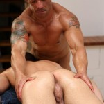 UK Naked Men Gio Cruz and Mark Coxx Big Muscle Uncut Cock Guys Fucking Amateur Gay Porn 08 150x150 Muscle Daddy Fucks an Amateur Younger Guy With A Huge Uncut Cock