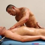UK Naked Men Gio Cruz and Mark Coxx Big Muscle Uncut Cock Guys Fucking Amateur Gay Porn 11 150x150 Muscle Daddy Fucks an Amateur Younger Guy With A Huge Uncut Cock