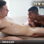 "Lucas Entertainment Kings Of New York Season 2 Sean Sean Xavier and Duncan Black Interracial Fucking Big Black Cock Amateur Gay Porn 03 150x150 White Hunk Takes A 12"" Black Cock Up His Ass and Eats A Load"