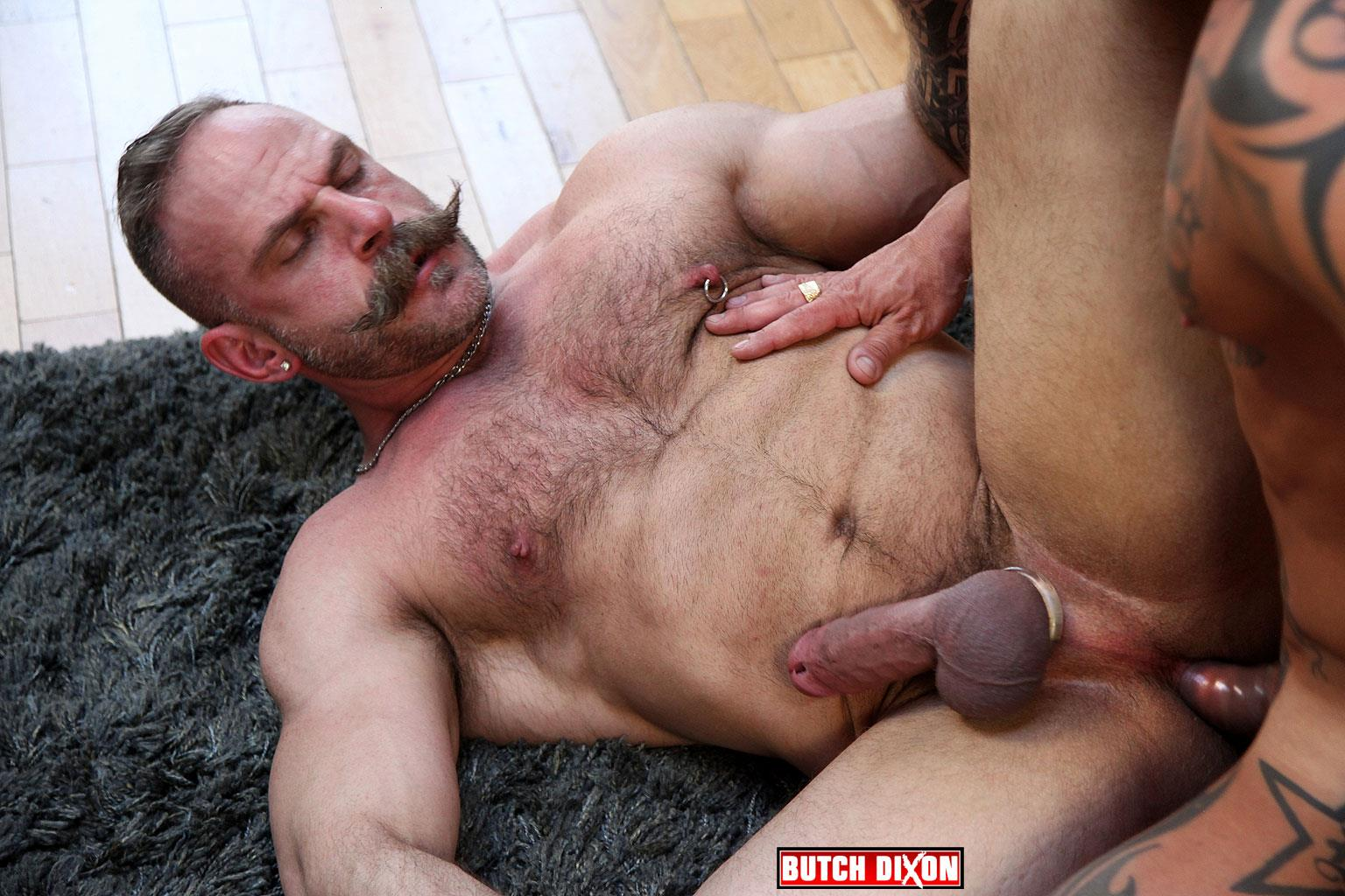Butch-Dixon-Samuel-Colt-and-Frank-Valencia-Hairy-Muscle-Daddy-Getting-Fucked-By-Latino-Cock-Amateur-Gay-Porn-13 Happy Fathers Day: Hairy Muscle Daddy Samuel Colt Taking A Big Cock Up The Ass