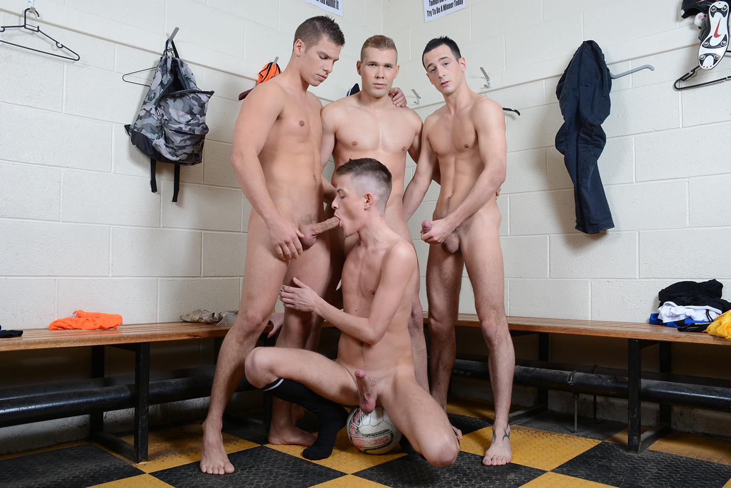 Staxus-Sportladz-Jordan-Fox-and-Luke-Desmond-and-Paul-Walker-and-Skylar-Blu-Amateur-Gay-Porn-06 World Cup Fever: Uncut Soccer Players Fucking In The Locker Room