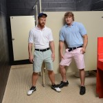 Men Jizz Orgy Swingers Bennett Anthony and Cameron Foster and Colt Rivers and Tom Faulk Fucking Bathroom Amateur Gay Porn 05 150x150 Hung Golfing Buddies Fucking In The Bathroom and Clubhouse