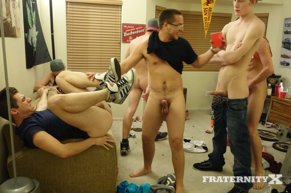 Fraternity X Frat Guys Bareback A Tight Hole BBBH Amateur Gay Porn 08 Frat Guys Gang Barebacking A Foreign Exchange Student