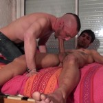 French Dudes Niko Corsica and Matt Surfer Mohawk Guy Fucked By Thick Uncut Cock Amateur Gay Porn 03 150x150 Mohawk Dude Takes A Thick Uncut Cock Up The Ass