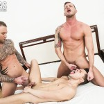 Lucas Entertainment Dylan James and Logan Rogue and Dmitry Osten Bareback Threeway Amateur Gay Porn 10 150x150 Dmitry Osten Takes A Raw Load In The Mouth And Ass