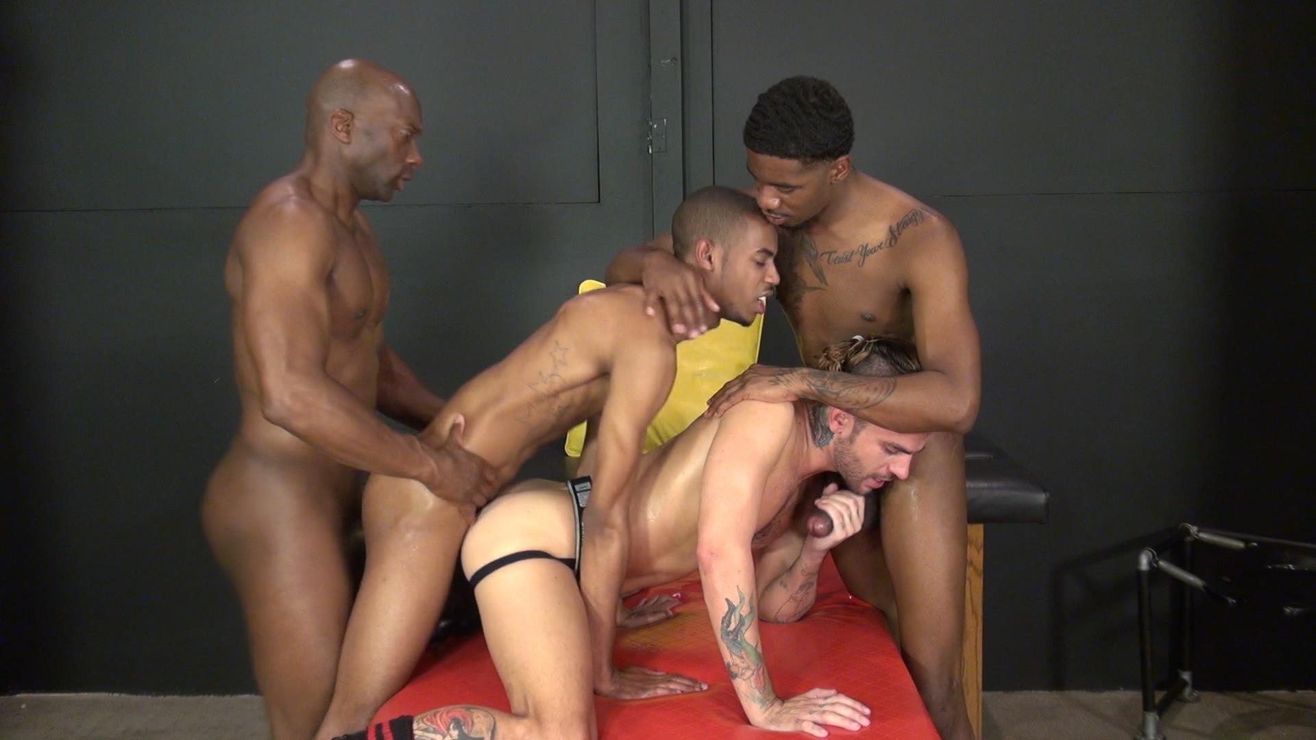 Raw and Rough Champ Robinson Lukas Cipriani Knockout Tigger Redd BBBH Amateur Gay Porn 10 White Boy Gets A Breeding By Three Big Black Dicks