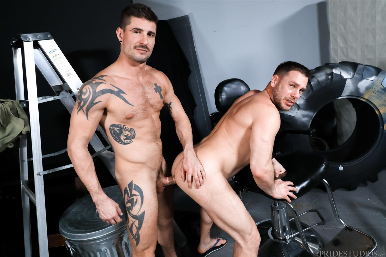 Pride-Studios-Hans-Berlin-and-Sean-Maygers-Daddy-Gets-Fucked-With-Big-Dick-13 Sean Maygers Fucking Muscle Daddy Hans Berlin